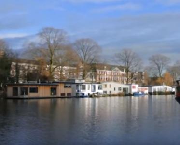 Дома на Воде. Амстердам. Голландия